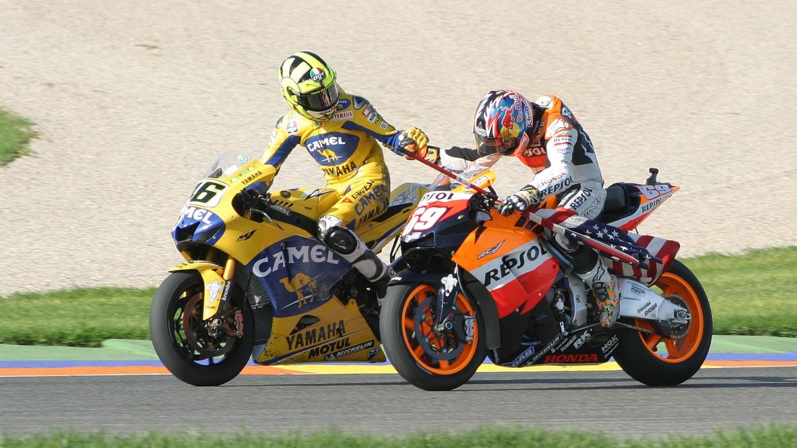 25 años Valentino Rossi: 2006 – Subcampeón MotoGP – Yamaha YZR-M1 / Camel Yamaha Team