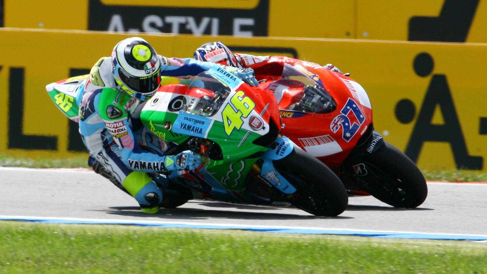 25 años Valentino Rossi: 2007 – 3º MotoGP – Yamaha YZR-M1 / Fiat Yamaha Team