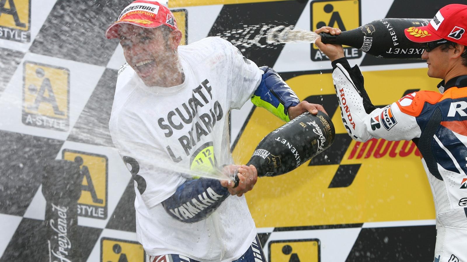 25 años Valentino Rossi: 2008 – Campeón MotoGP – Yamaha YZR-M1 / Fiat Yamaha Team