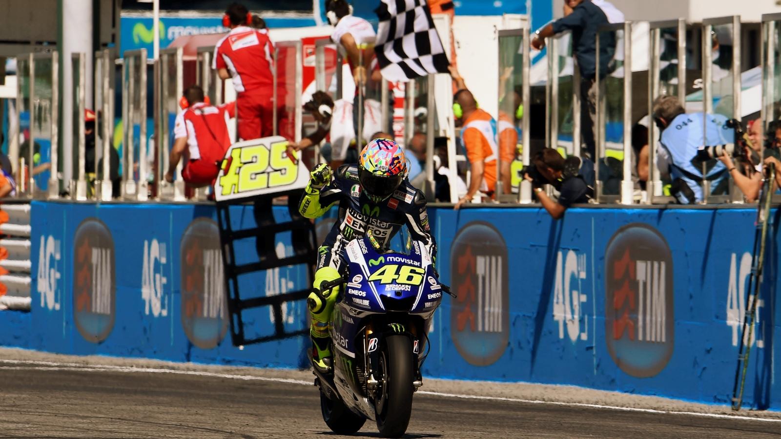 25 años Valentino Rossi: 2014 – Subcampeón MotoGP – Yamaha YZR-M1 / Movistar Yamaha MotoGP