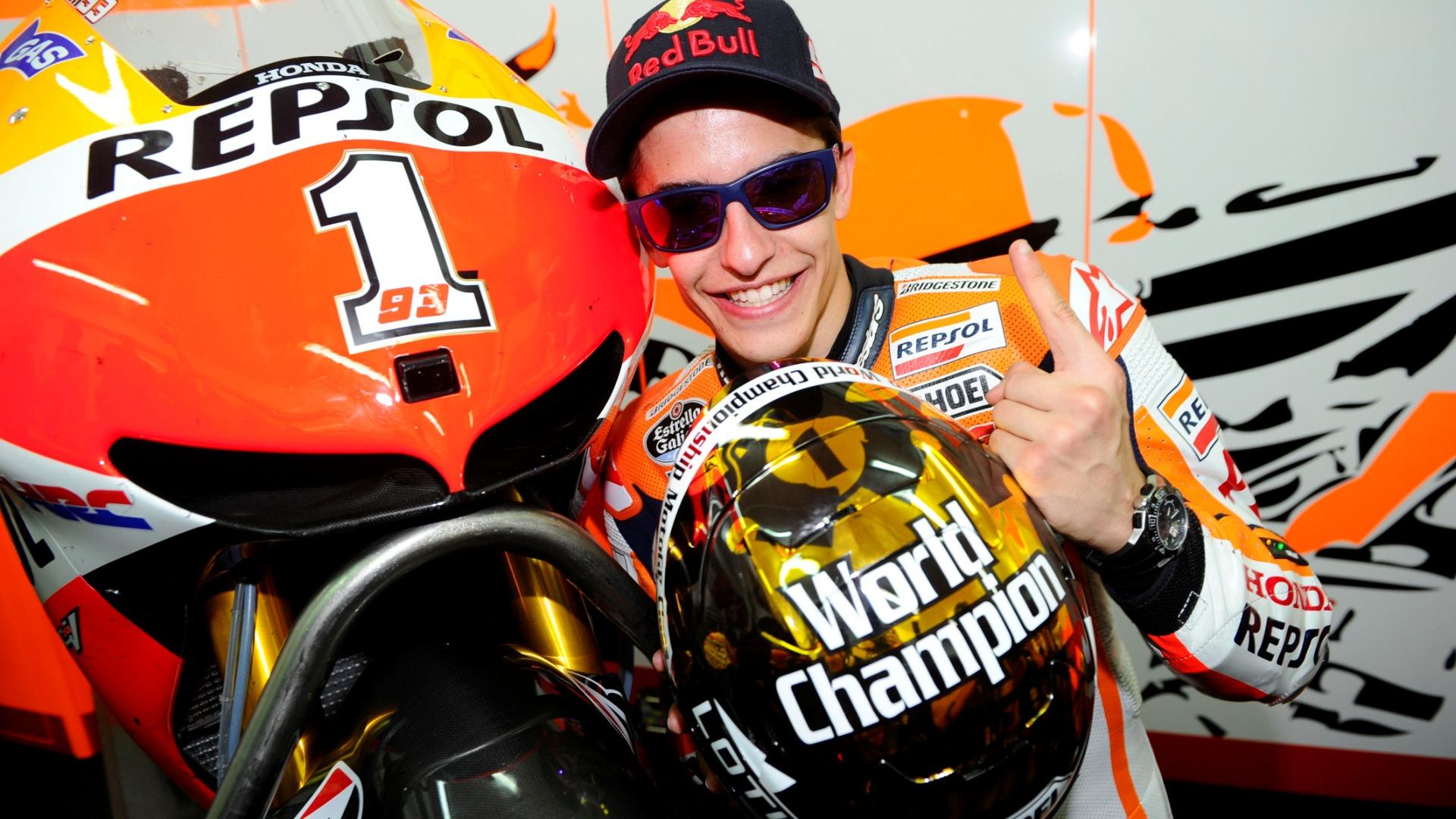 Marc Márquez: 2013 – Campeón de MotoGP