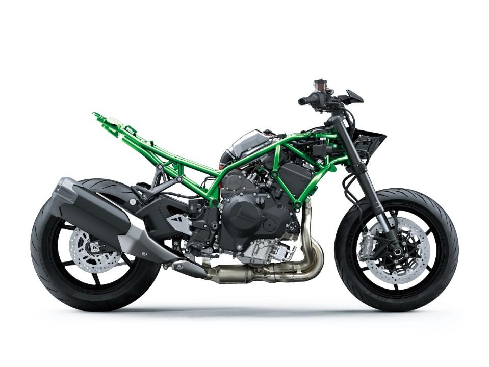 Kawasaki Z H2 2020. Fotos
