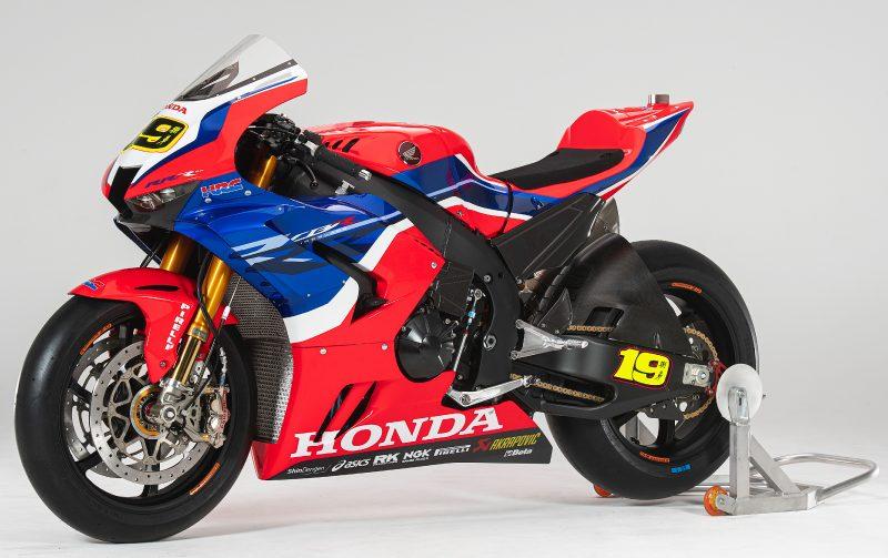 Honda CBR1000RR-R Superbike 2020 - Álvaro Bautista & Leon Haslam