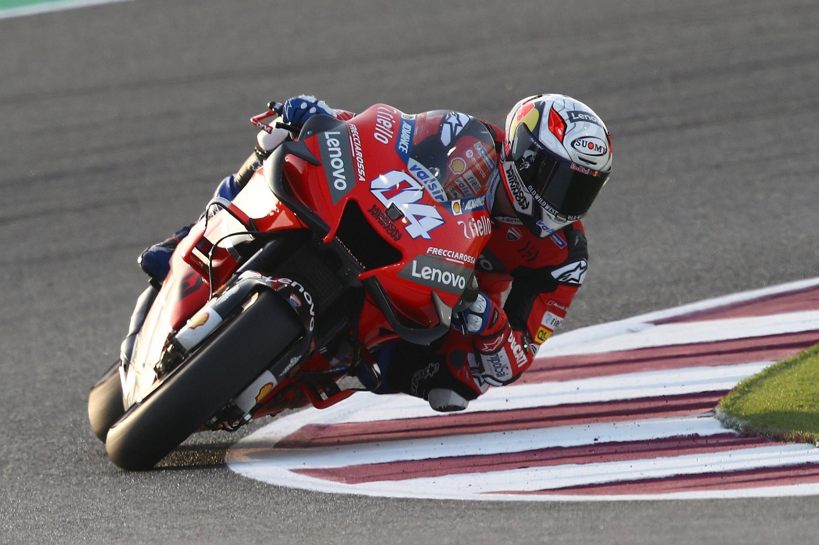 Pilotos Mundial MotoGP 2020 test Qatar