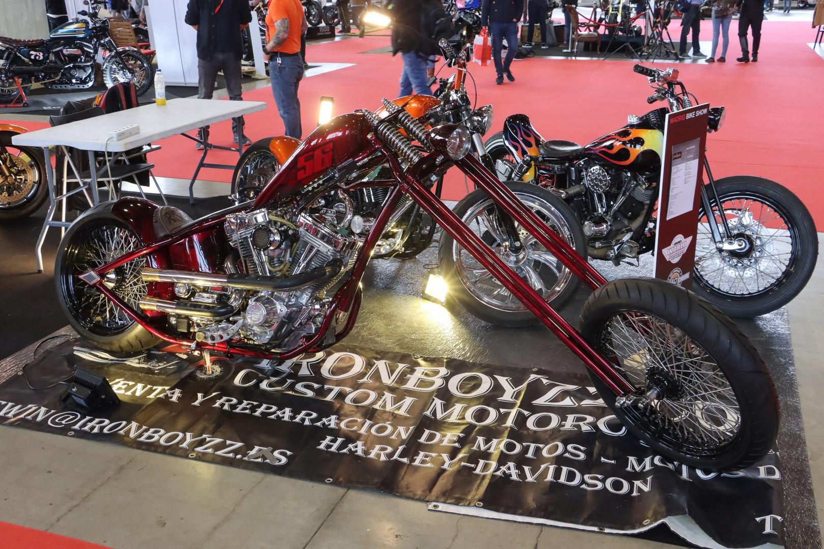 Madrid Bike Show de Motorama 2020. Fotos.