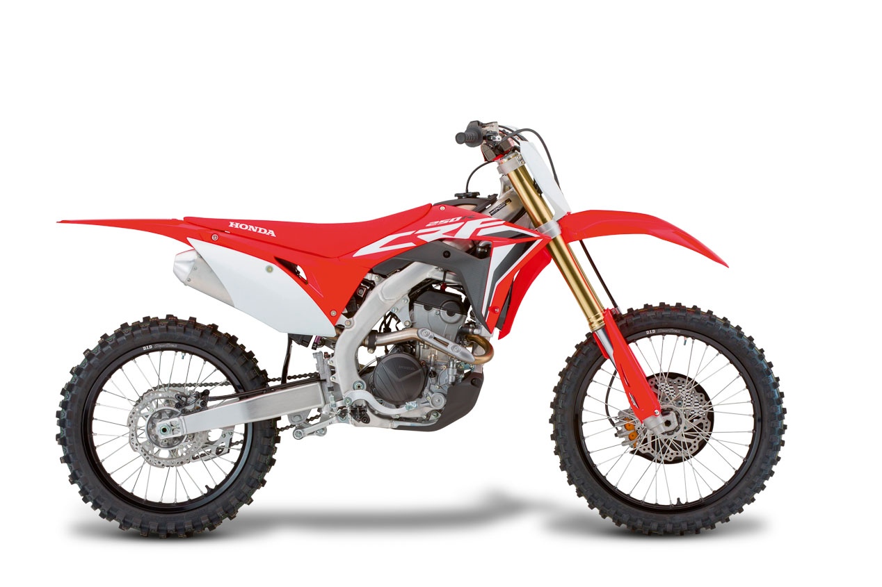 Test cross: Honda CRF 250