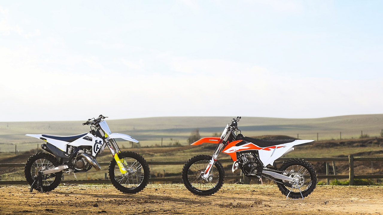 Husqvarna TC 125 y KTM 125 SX 2020, prueba comparativa
