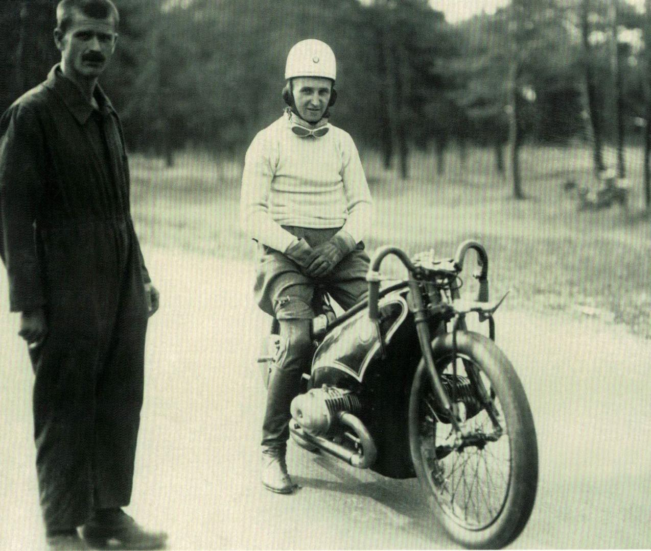 Ernst Henne y la primera BMW cazarecords