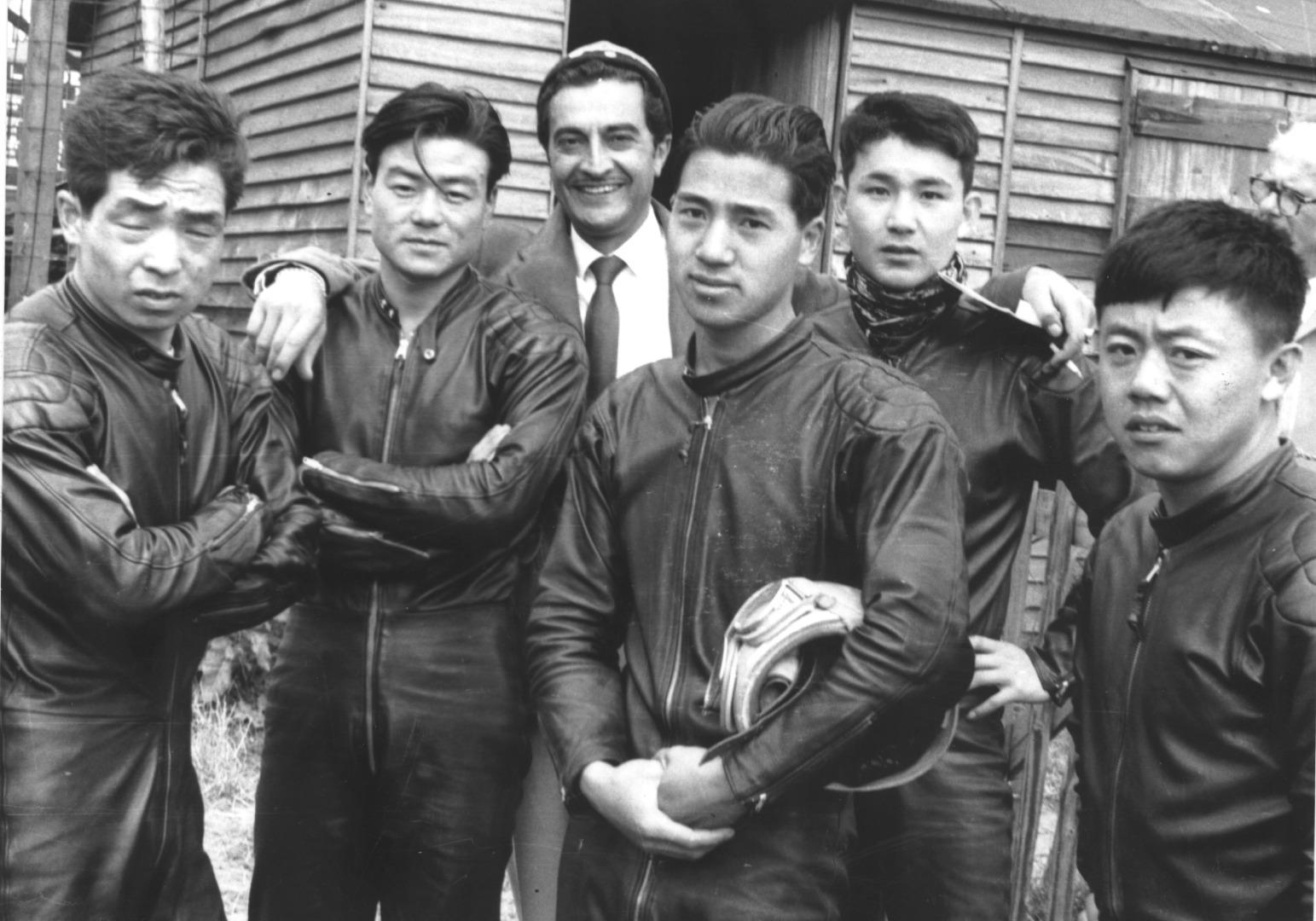 Pilotos Honda Tourist Trophy 1959