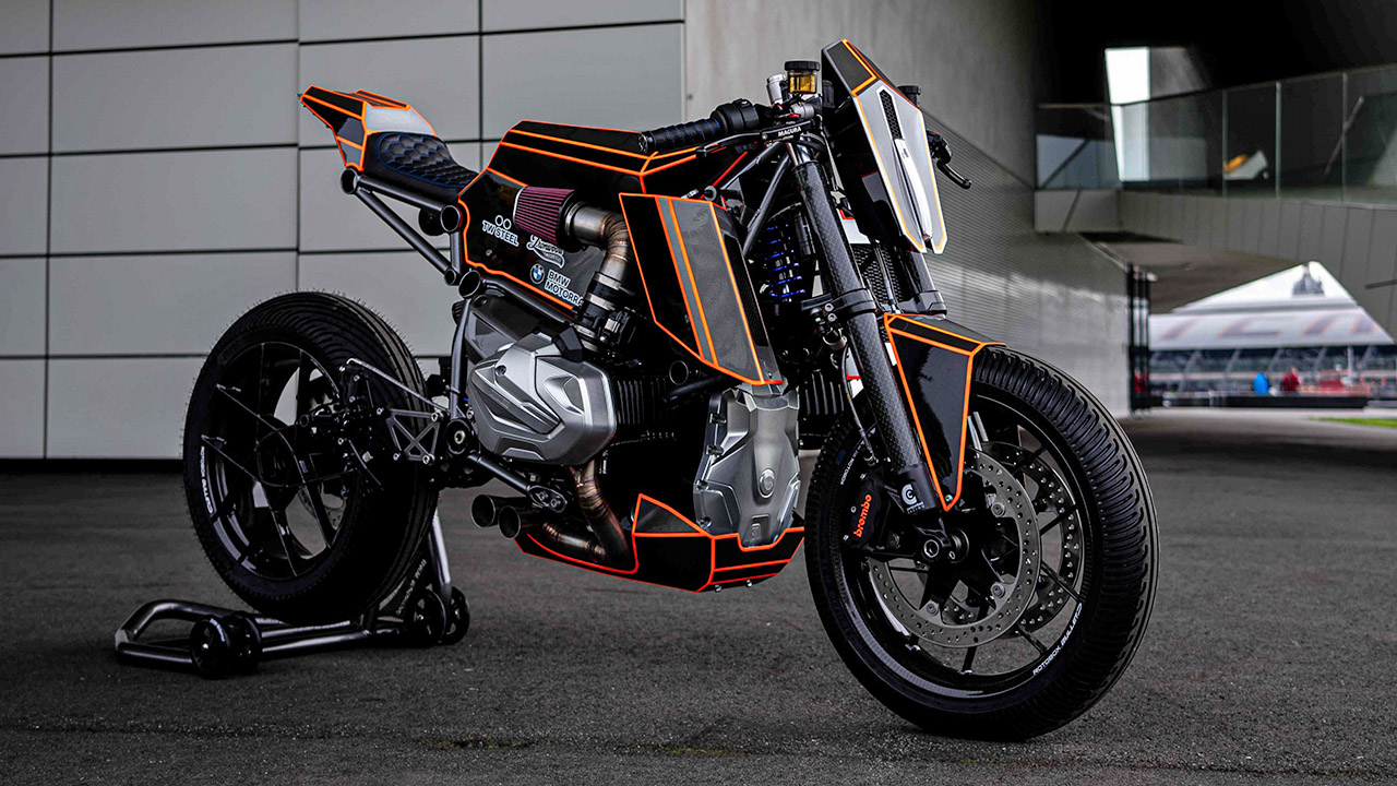 BMW R 1250 GS Dominator de Ironwood Custom Motorcycles