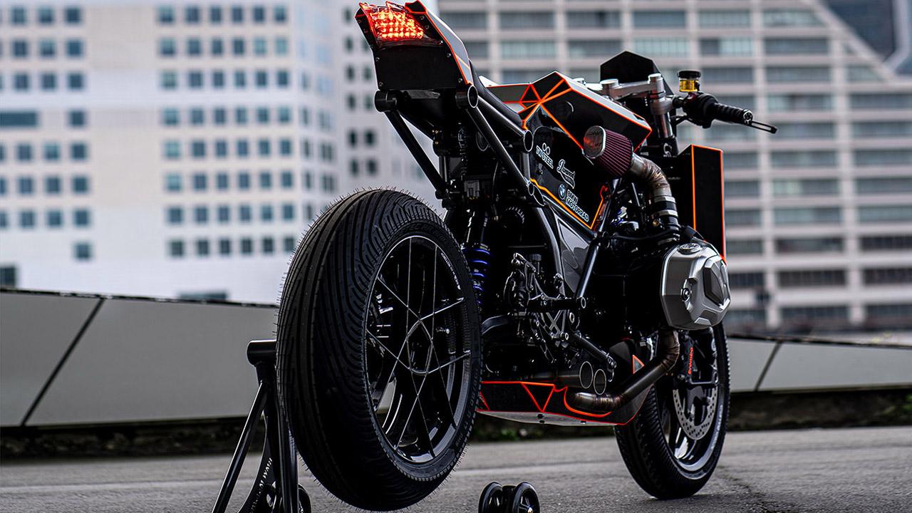 BMW R 1250 GS Dominator de Ironwood Custom Motorcycles