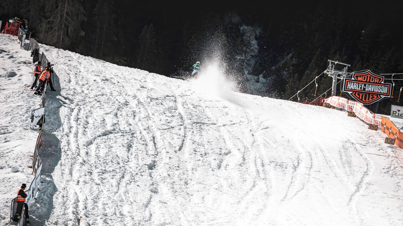Espectáculo en la nieve