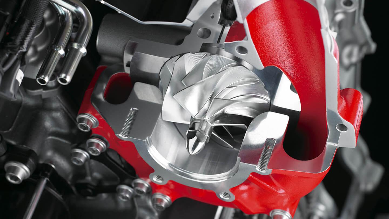 Motos sobrealimentadas