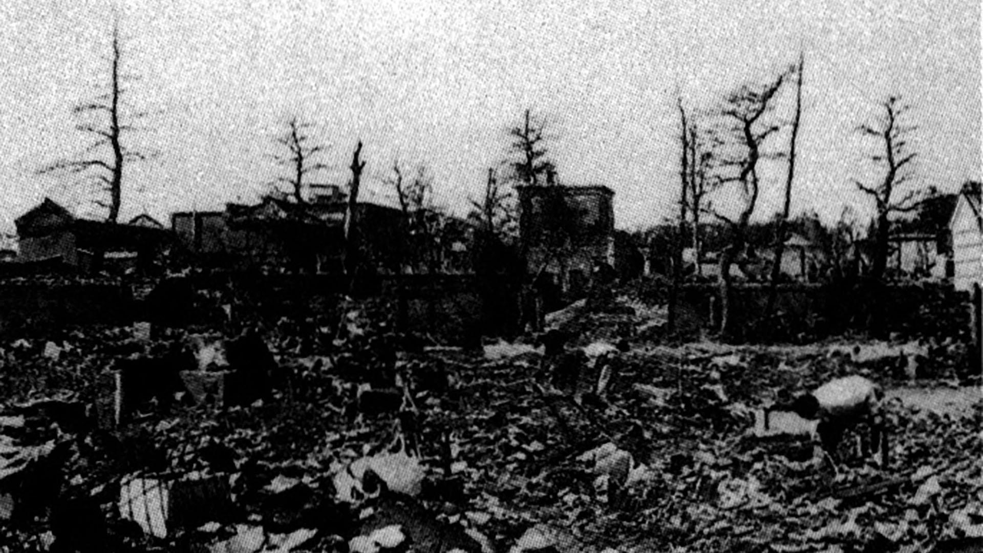 1945 Factoría Suzuki destruida