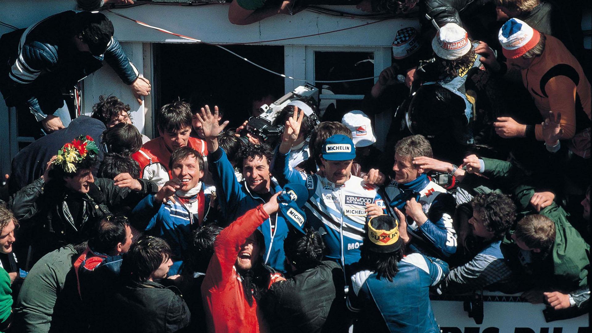 1985 Victoria de Suzuki en las 24 Horas de Le Mans