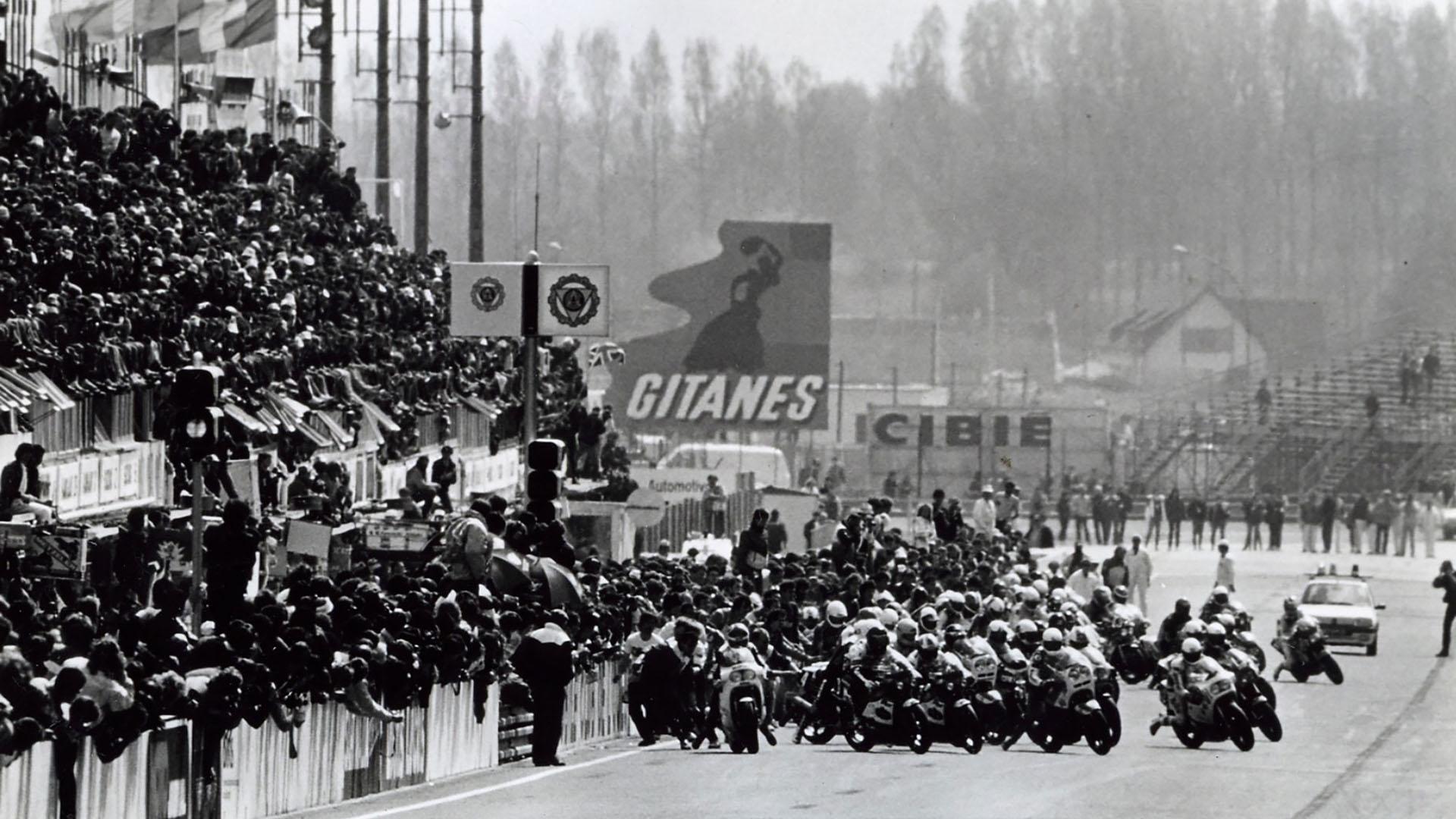 1985 Salida de las 24 Horas de Le Mans