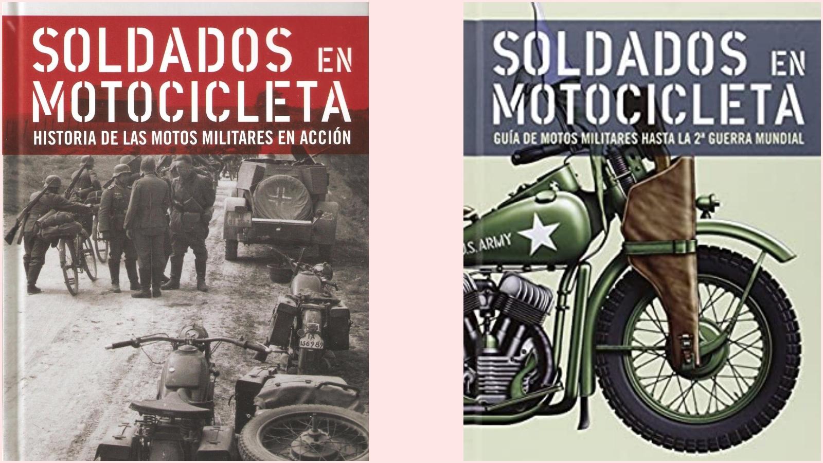 Soldados en motocicleta / Bartolomé Arenas