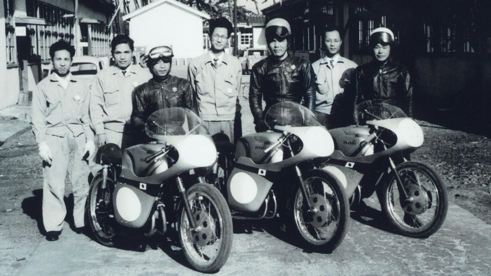 60 años de Suzuki en el Mundial de motociclismo