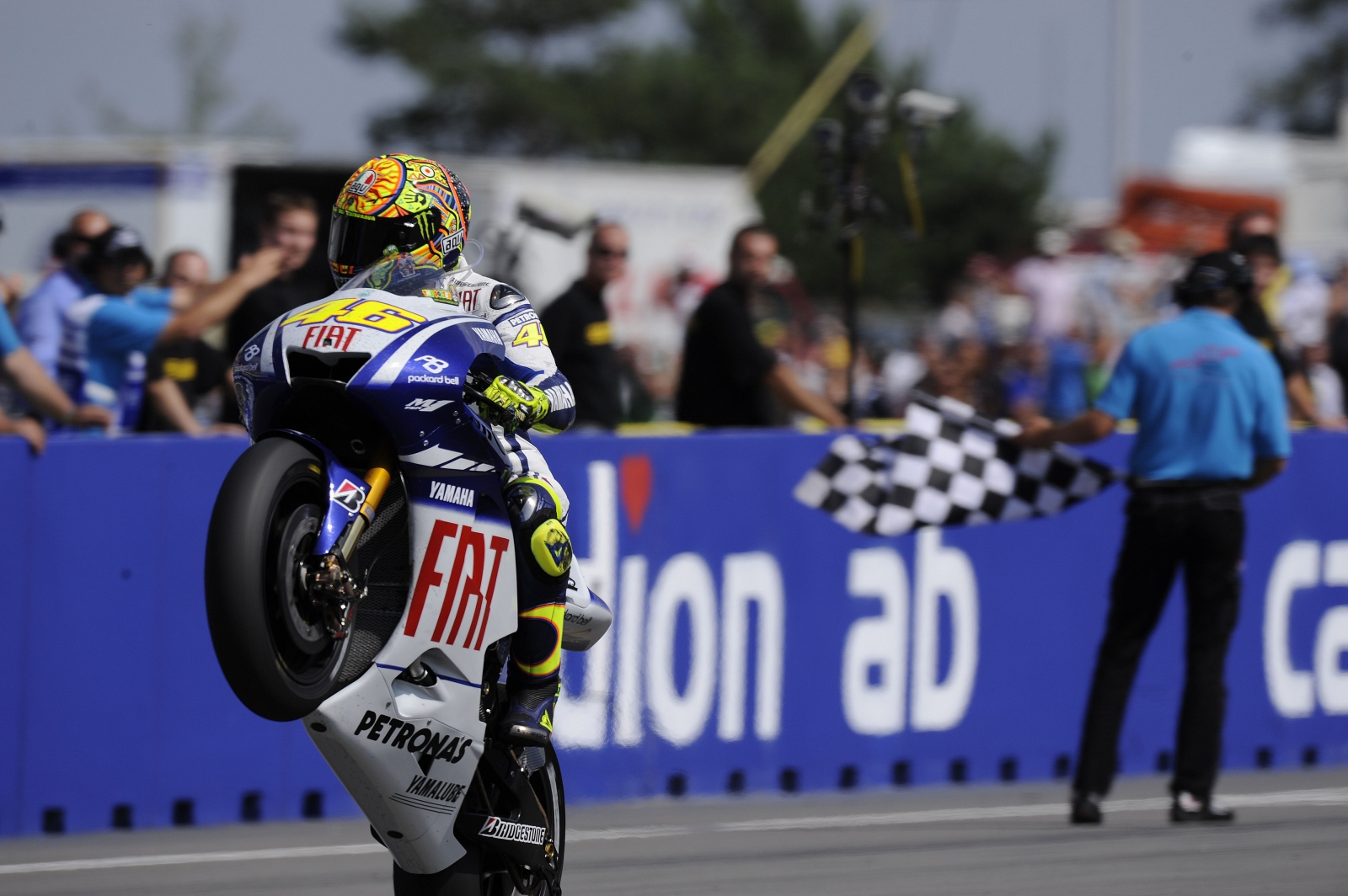 Victorias por más de 10 segundos en MotoGP