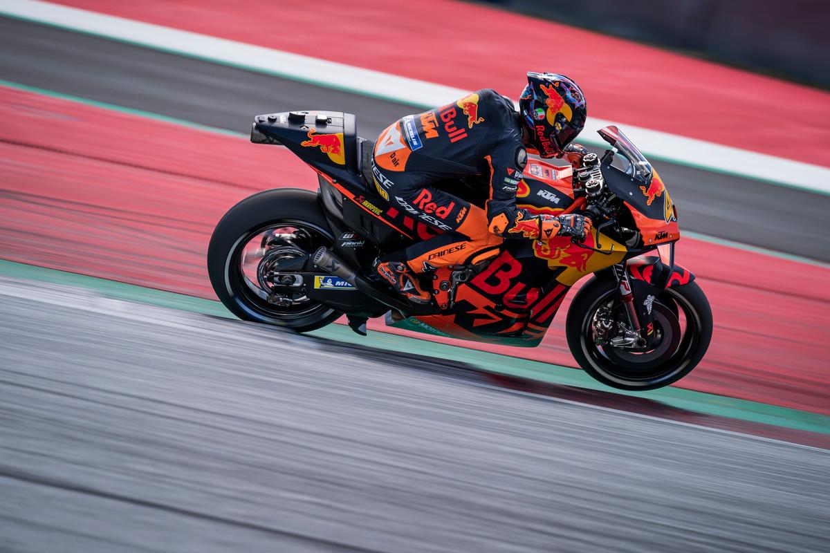 Test KTM MotoGP 2020 Red Bull Ring Dani Pedrosa y Pol Espargaró