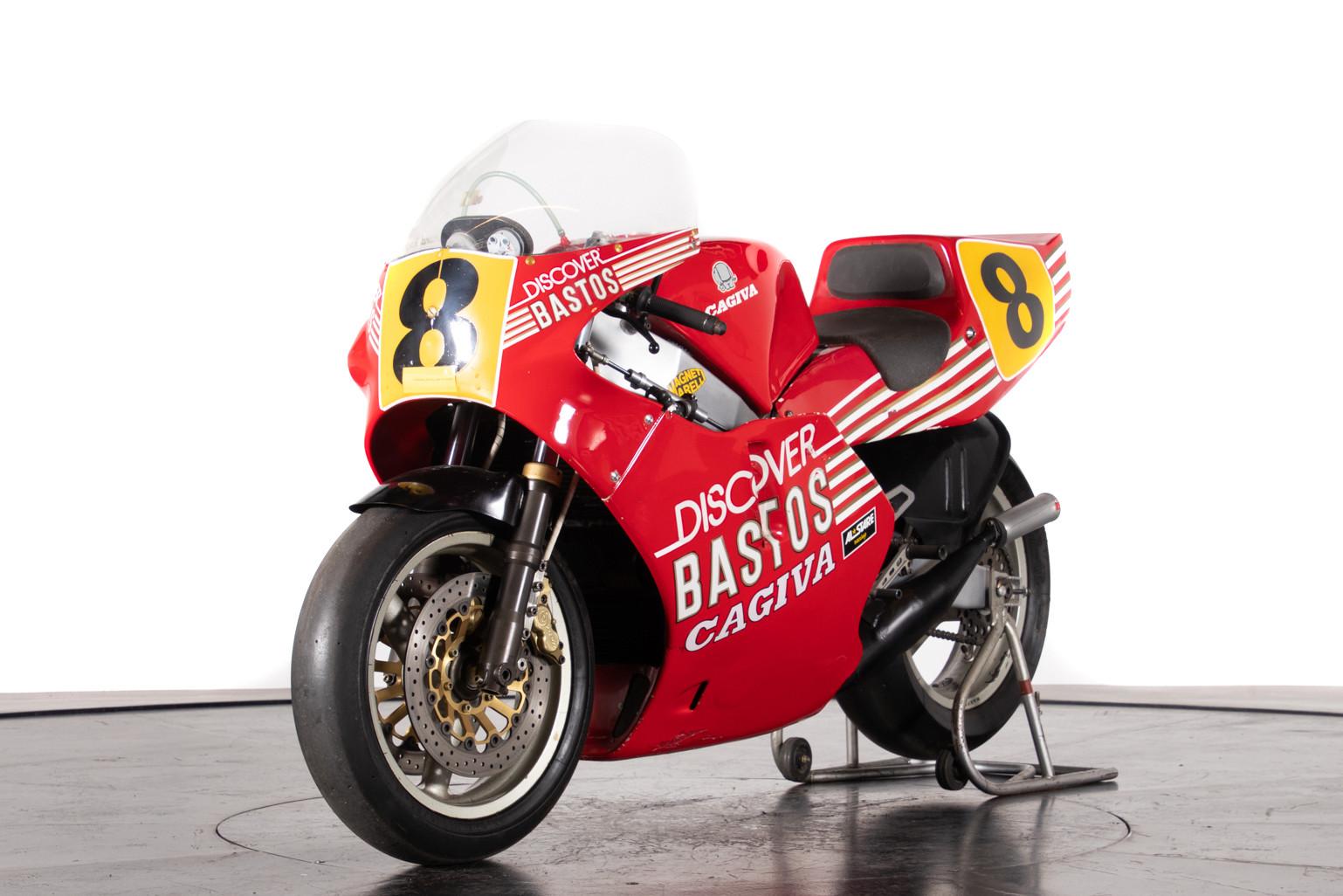 Cagiva C587, la 500cc de Raymond Roche