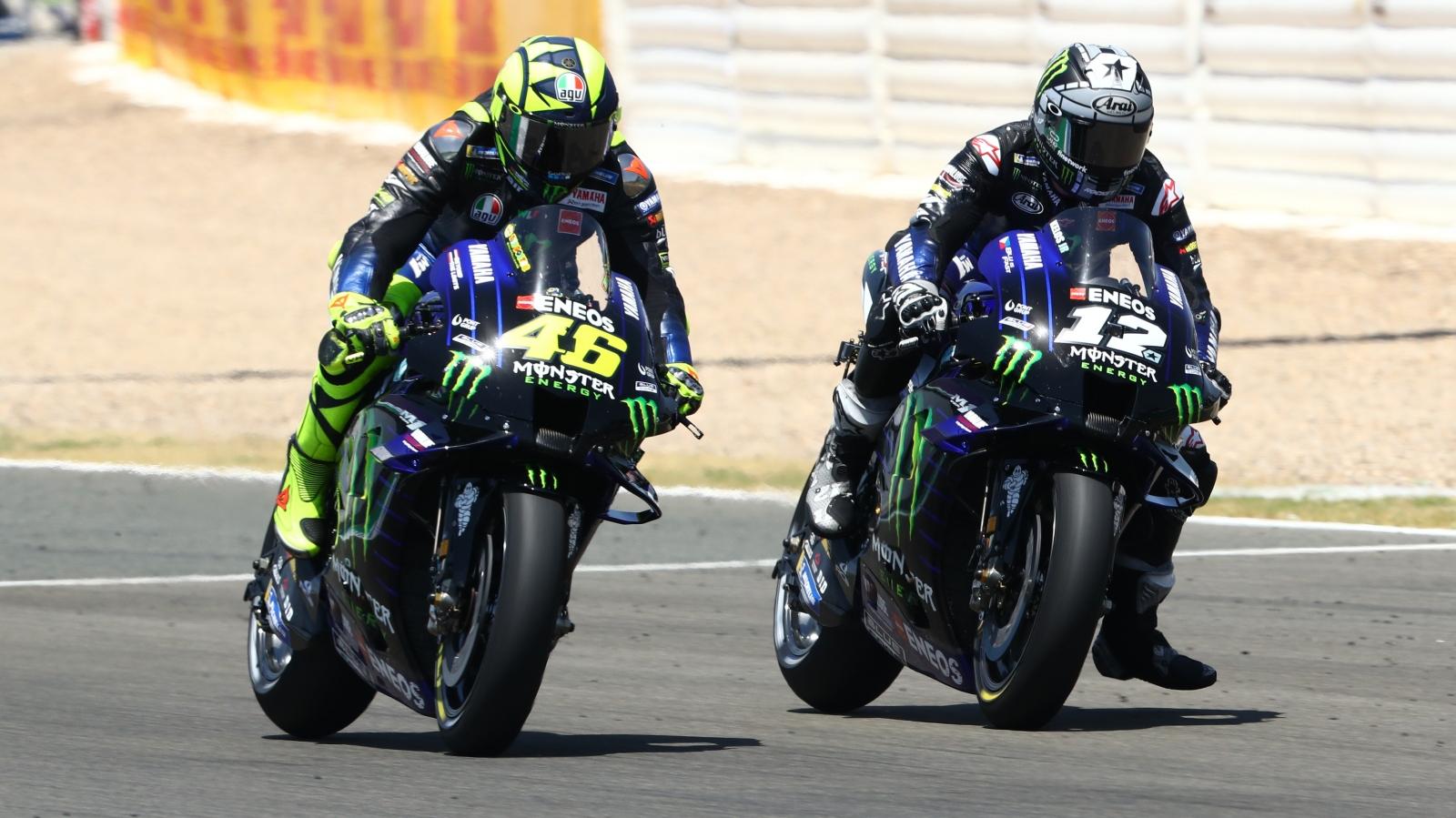 Valentino Rossi vs Maverick Viñales, GP Andalucía 2020