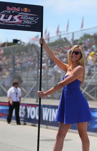 Las chicas del Gran Premio de Estados Unidos. Galería de fotos