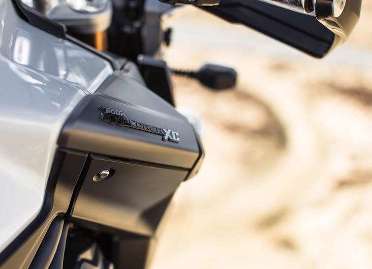 Triumph Explorer 1200 XC. Galería de fotos