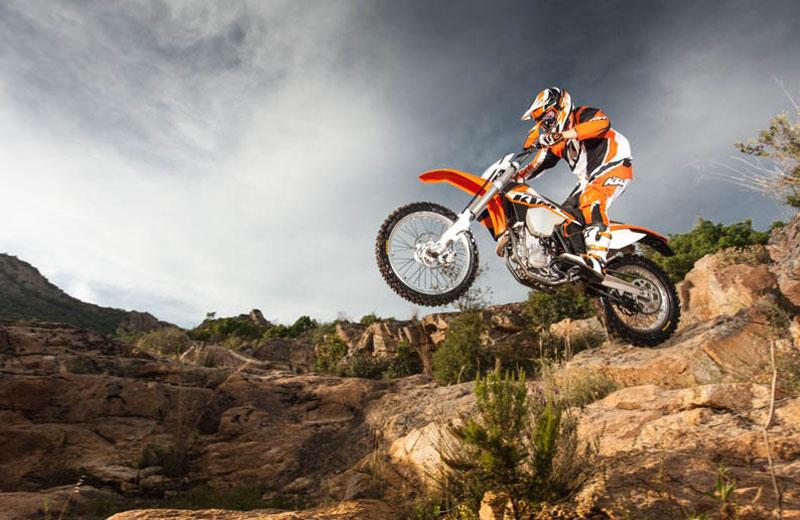 KTM presenta su gama off road 2014. Galería de fotos