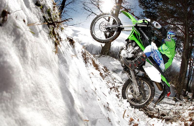 Kawasaki KLX 250. Prueba Moto Verde. Galería de fotos