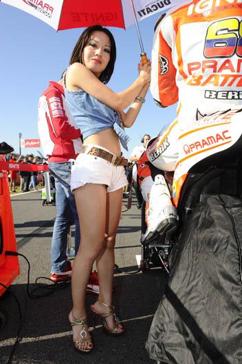 Las chicas del Gran Premio de Japón. Galería de fotos