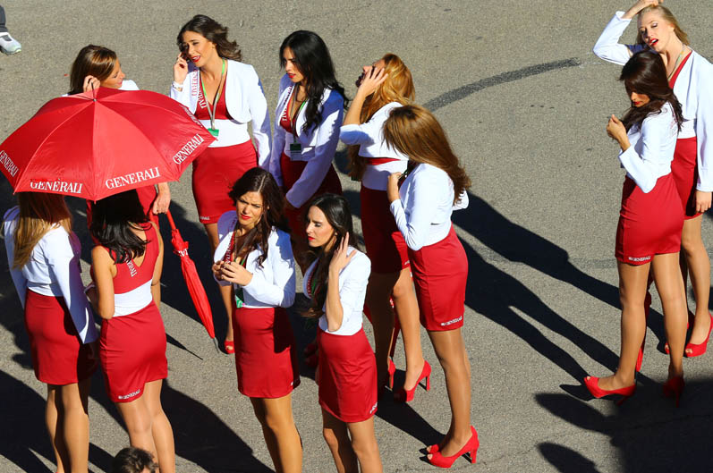 Las chicas del Gran Premio de Valencia. Galería de fotos