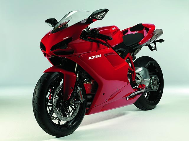 La Ducati 1098, Mejor Diseño de 2006