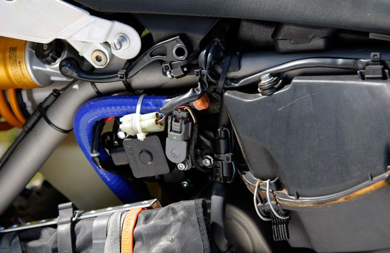 BMW G 450 X Rally. Adaptación al desierto