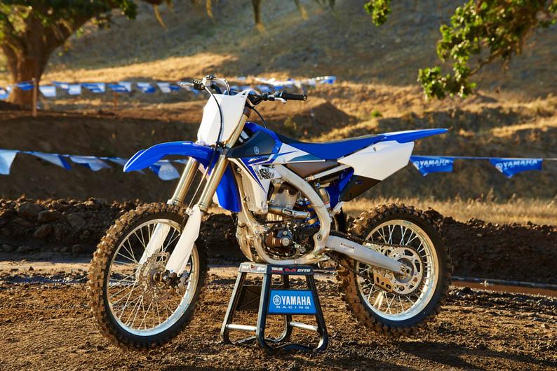 Nuevas Yamaha YZF de motocross 2014