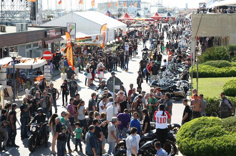 Harley-Davidson celebra su 110 aniversario en Roma