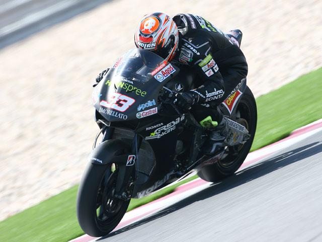 Rossi, con buen ritmo