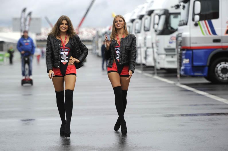 Las chicas del Mundial de Superbike en Rusia. Galería de fotos
