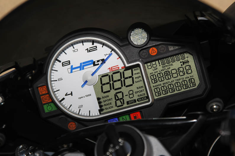 Comparativa BMW S1000RR y HP4