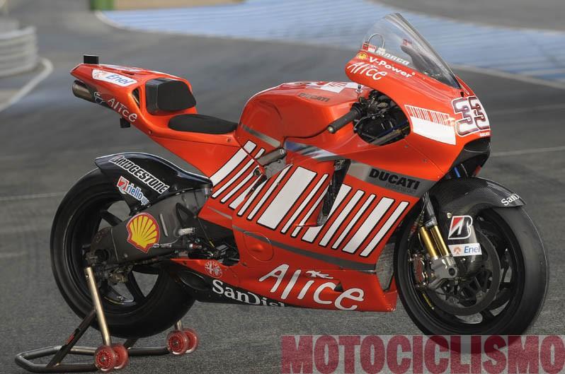 Ducati Desmosedici 2008