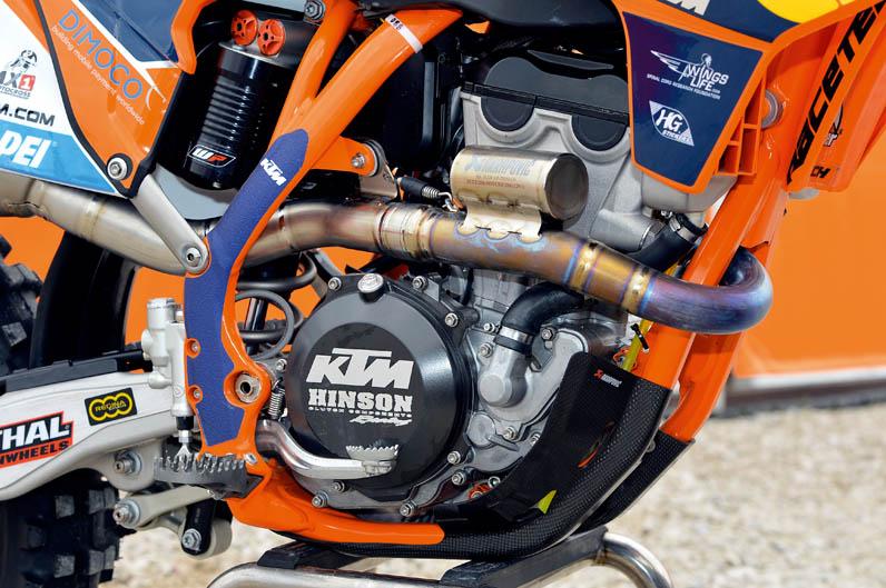 KTM 350 SXF Factory Tony Cairoli