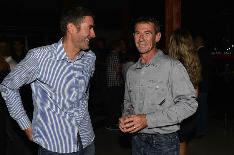 Jean Michel Bayle y Troy Corser
