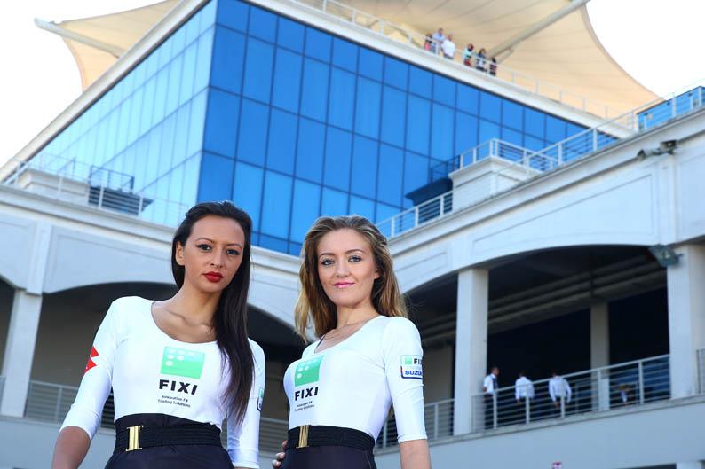 Las chicas del Mundial de SBK en Estambul
