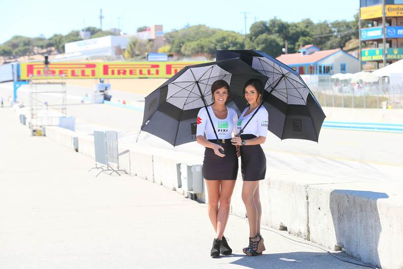 Las chicas del Mundial de SBK en Laguna Seca