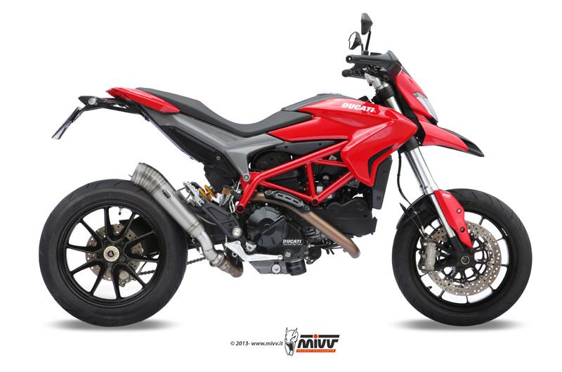 Escapes Mivv para Ducati Hypermotard 821