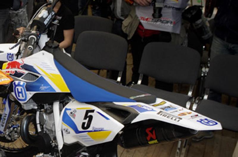 Nueva Husqvarna TC300 Racing Factory