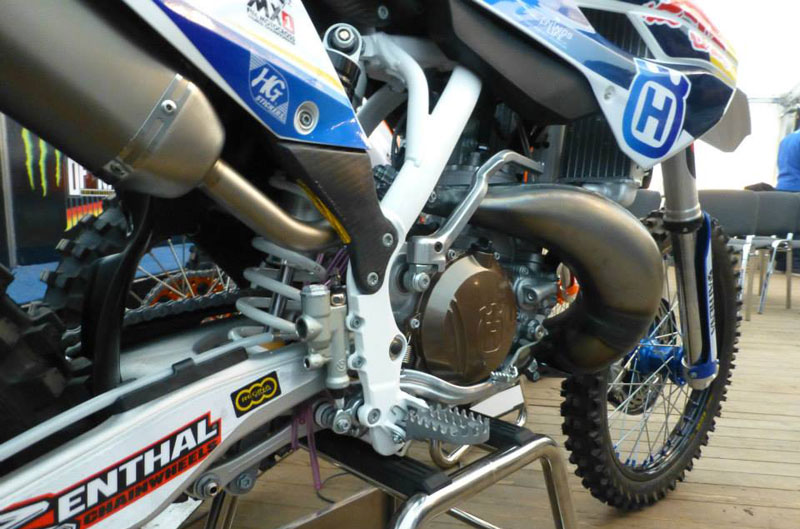 Nueva Husqvarna TC300 Racing Factory