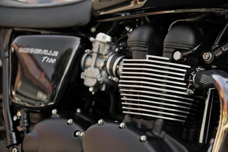Triumph Bonneville T100 2014. Galería de fotos