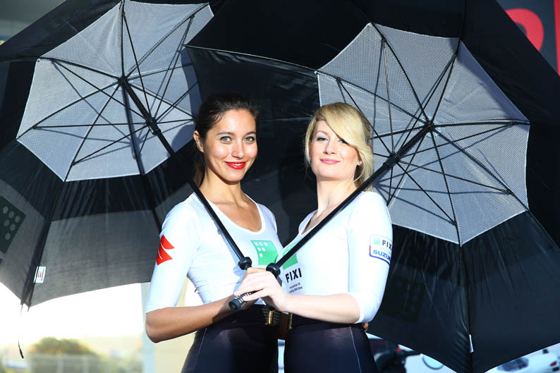 Las chicas del Mundial de SBK en Jerez. Galería de fotos