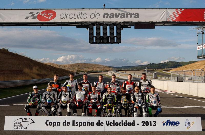 Campeones de la Copa de España de Velocidad. Galería de fotos